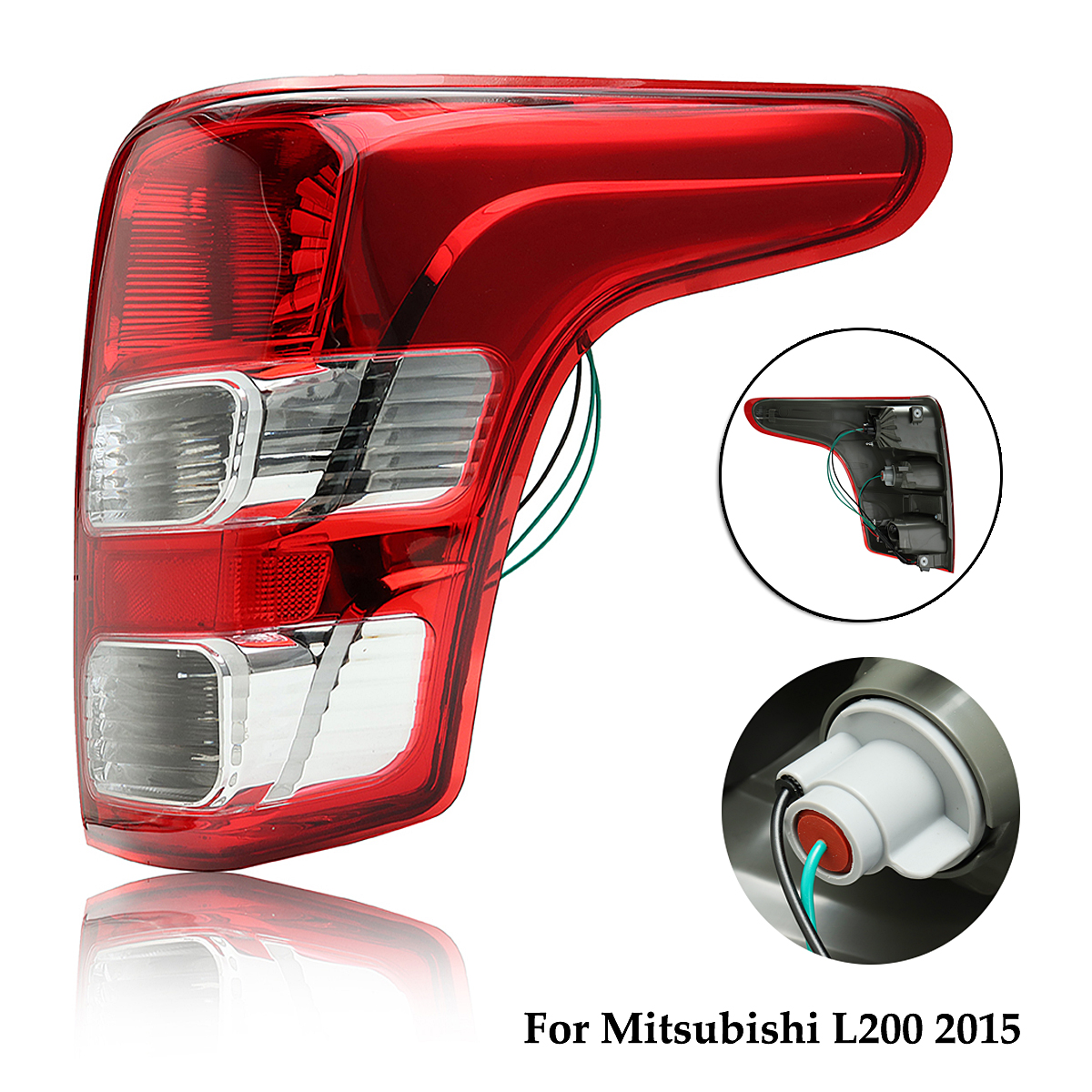все цены на Red Tail Light Lamp Right Side for Mitsubishi L200 2015-on for Triton for Fiat for Strada онлайн