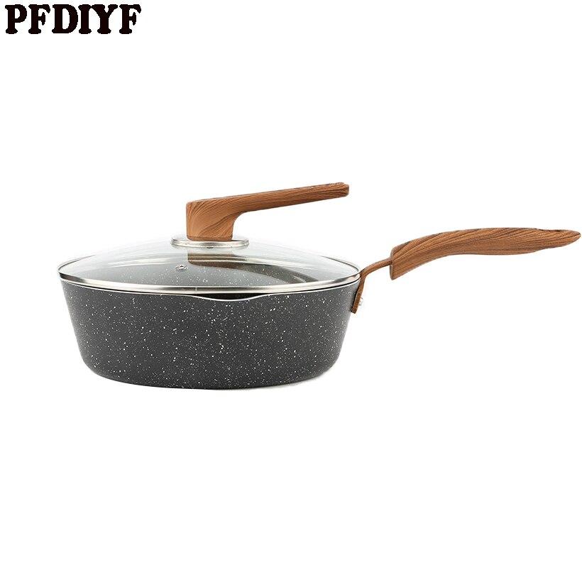 Maifan סטון שאינו מקל מחבת ביתי חביתת מחבת סטייק עיבוי בישול סיר אין אדים שימוש עבור גז אינדוקציה סיר