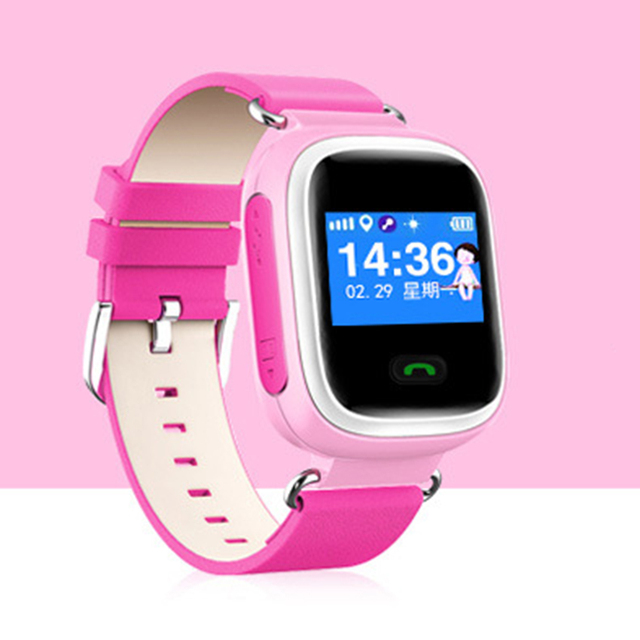 GPS Smart Watch Child SOS Location Finder Device Tracker Kid Safe Anti Lost Monitor Smartwatch  Support  Multiple Languages