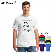 350c2bf0ce6 Your OWN Design Brand Logo/Picture Custom Men and women DIY Cotton T shirt  Short