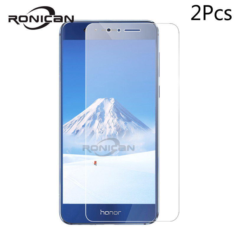 2Pcs Tempered Glass For Huawei Honor 8 Screen Protector Tempered Glass For Huawei Honor 8 Glass Honor 8 Honor8 Protective Film