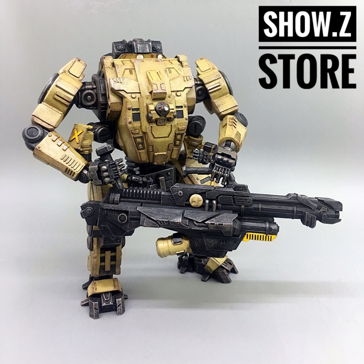 все цены на [Show.Z Store] JoyToy Source Acid Rain Mecha HT01 Iron Skeleton Transformation Action Figure онлайн