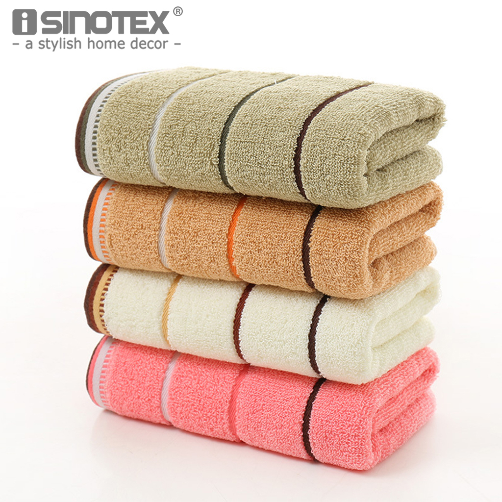 34*74cm 100% Luxury Cotton Face Towel Washcloth Highly Absorbent Extra Soft Fingertip Hand Towels For Home Sport Gym And Spa