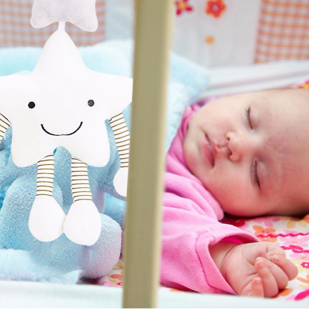 Creative Five-pointed Star Music Wind Chime Hanging Rattle Toys For Baby Strollers For Dolls Bed Hanging Bell Popular Toy Gifts