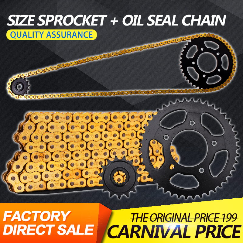 1 Set Front and Rear Gear Sprocket Chain & DID 525 Chain For Honda CB400 Motorcycle Accessories front rear gear box complete set drive