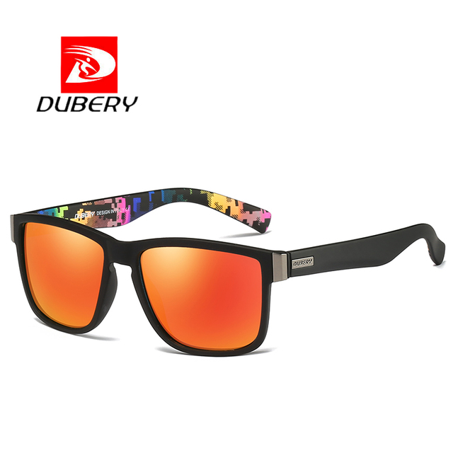 DUBERY Brand Design Polarized Sunglasses Men Driving Sun Glasses Male Vintage Retro Mirror UV400 Goggles Shades Oculos De Sol
