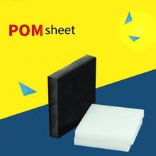 Folha de POM Polioximetileno Placa de Gravura do CNC de corte Modelo Placa DIY Raw Materiais Modelo