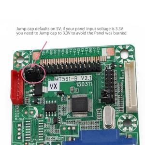 Image 4 - 무료 프로그램 Verison MT516 B 일반 LVDS LCD 드라이버 보드 VGA 12 42 인치 LCD 모니터 패널 용 점프 캡 DC 5V 3.3V/5V