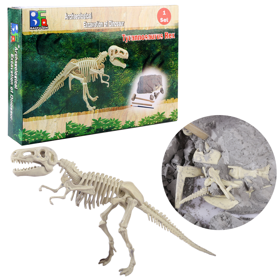 Dinosaur Excavation Kits Toy Children Creative Dinosaur Archaeology Model Excavation Educational Toys For Baby Children 5 Years
