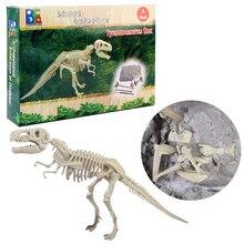 Динозавр набор раскопки игрушки детей Творческий динозавр археологии модель раскопки развивающие для маленьких детей 5 лет