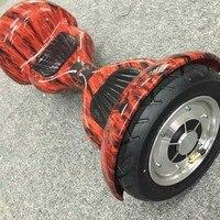 Новый 10 Ховерборд электрический скутер огонь красный, samsung батареи, Bluetooth Бесплатная доставка дюймов балансируя