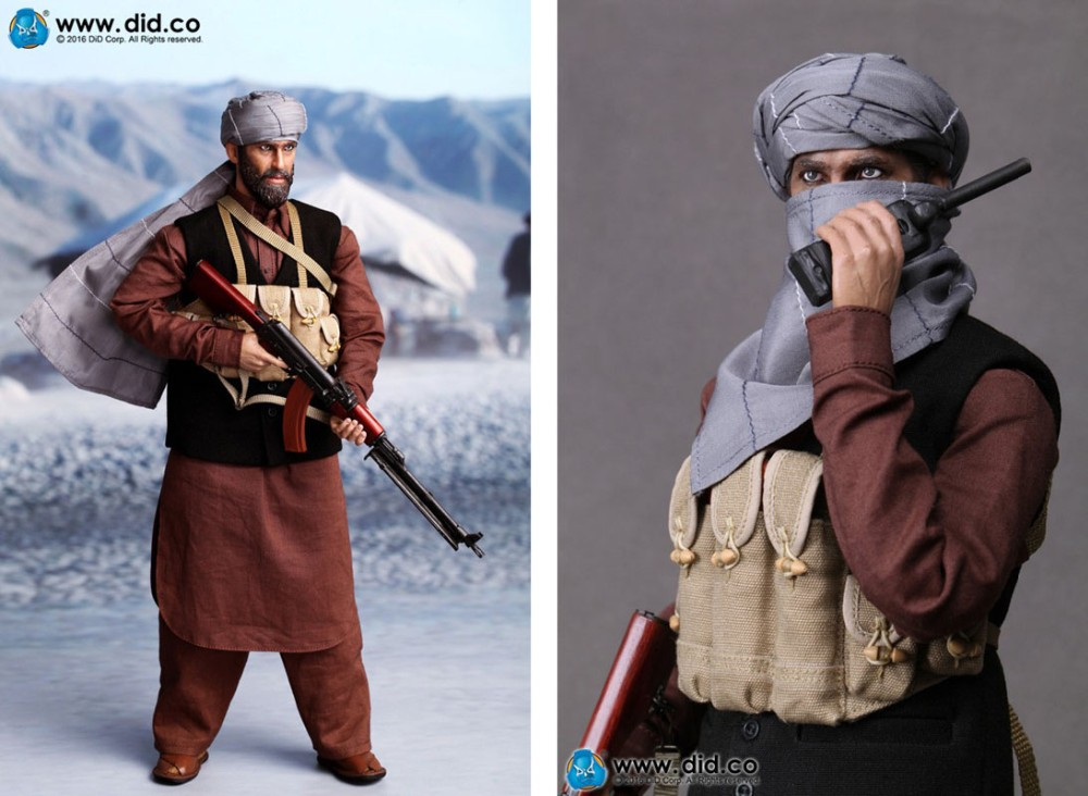 DID I80111 1//6 Scale Afghanistan Civilian Fighter Asad Hat Model