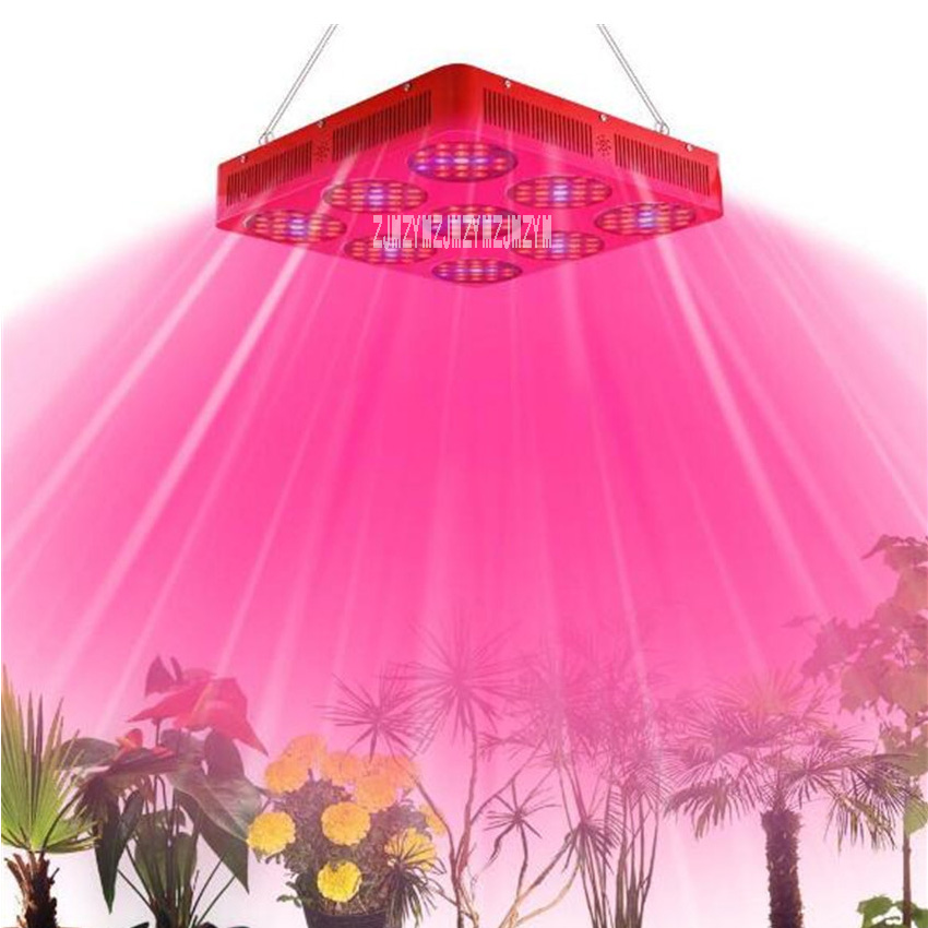2pcs/lot New 110-250V High Power 9-hole LED Plant Light 189 Beads Double Chip Fill Light Seedling Plant Growth Plant Lamp 420W