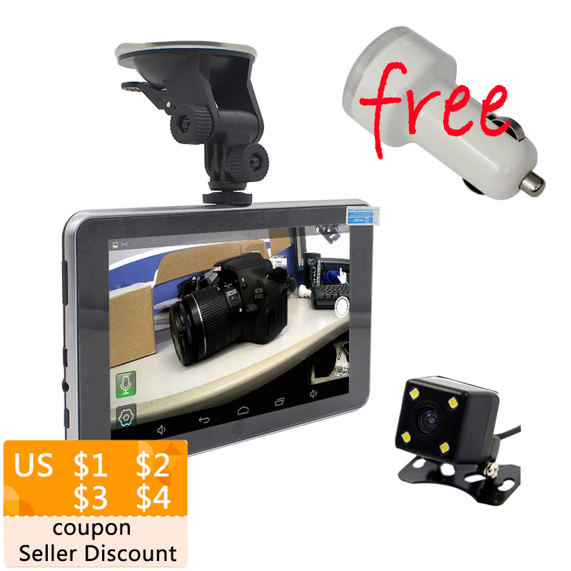 Car  Inch Android Gps P Dvr Navigation With Rear View Mt Quad Core Sat