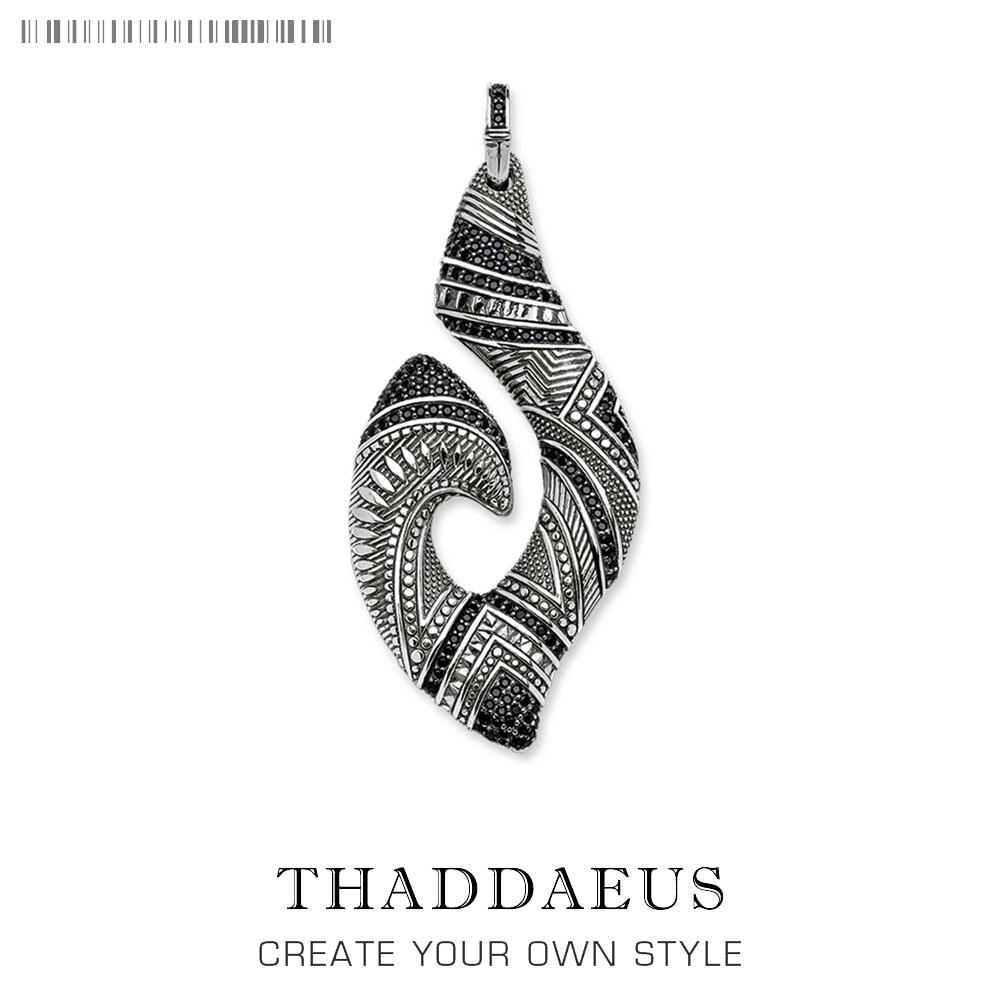 Pendant Hook Ethnic Maori,2019 Fashion Ethnic Jewelry Thomas Solid 925 Sterling Silver Bijoux Gift For Ts Woman & Rebel Men 1