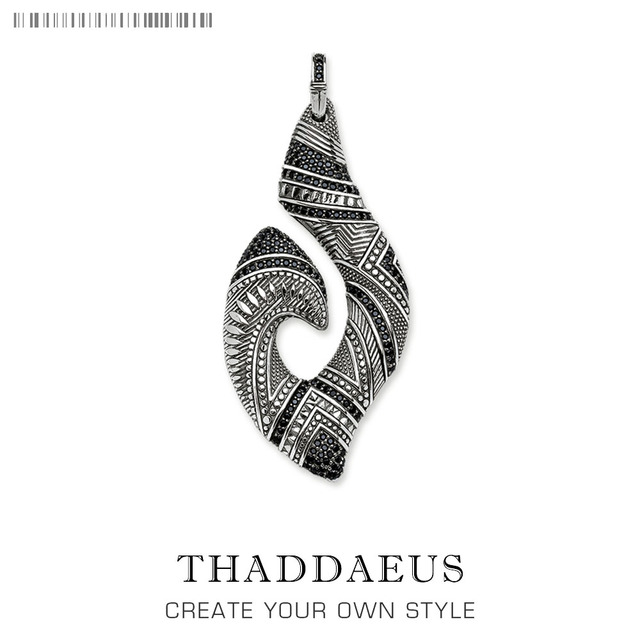 Pendant Hook Ethnic Maori,2019 Fashion Ethnic Jewelry Thomas Solid 925 Sterling Silver Bijoux Gift For Ts Woman & Rebel Men 1