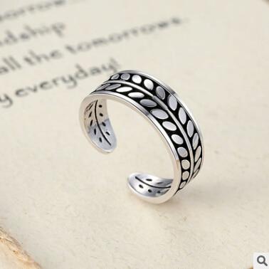 Novi dolazak visokokvalitetni retro stil 925 srebra dame podesive - Fine nakit - Foto 1
