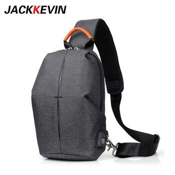 2018 Crossbody hombres bolsa nueva de bolsos moda Jackkevin para qvOwzFddn