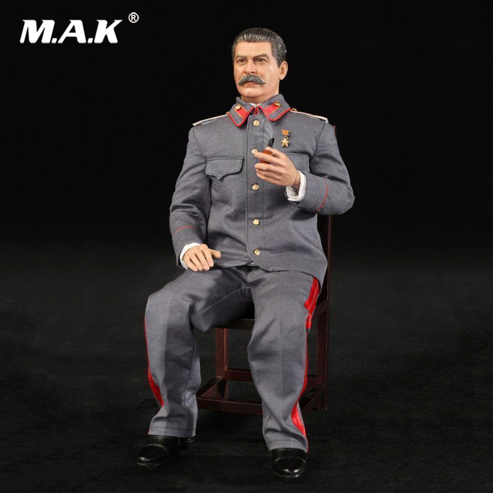 Collectible Figure Model 1/6 Scale Full Set WWII Soviet Joseph Jughashvili Stalin (1878-1953) Action Figure for Fans Gift stalin