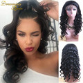 8A Glueless Full Lace Human Hair Wigs For Black Women Loose Curly Wave Lace Front Human Hair Wigs Mongolian Virgin Hair Lace Wig