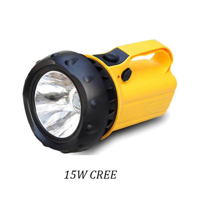 ФОТО Super Bright 15W Led Flashlight Portable Torch Rechargeable Lanterna Camping Searching Lamp 1200 Lumens Outdoor Nightlights