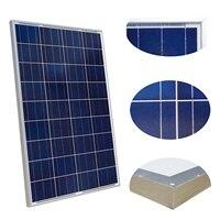 Распродажа! Великобритания/ЕС/США со 100 Вт В 12 В вольт поли солнечные панели поликристаллический батарея зарядки от сетки караван дома 12 В в ...