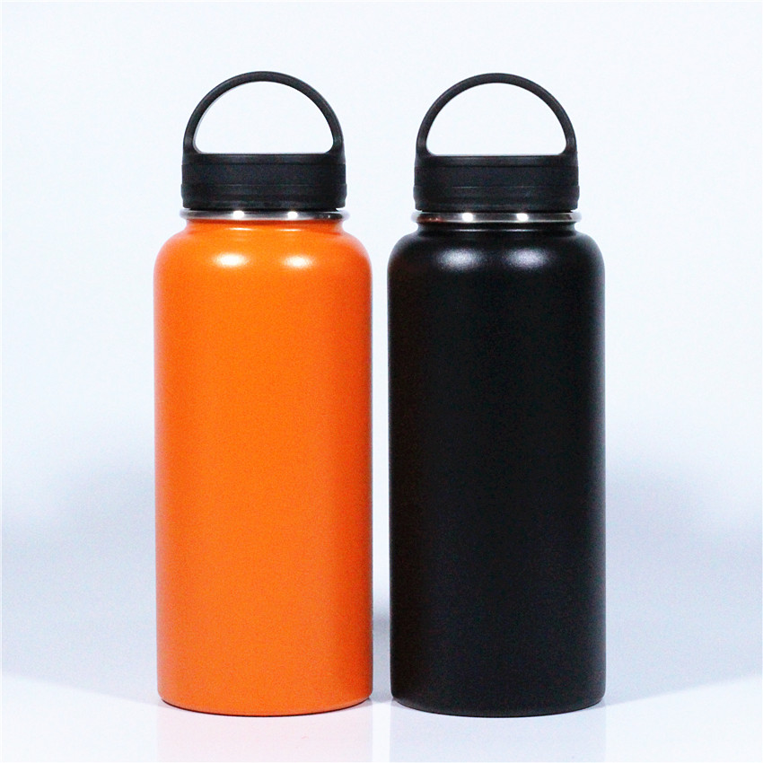 MULTICOLOR Vacuum  Flask Insulated Stainless Steel Water Bottle 32OZ 900ML hydroelectric potential cup TERMOS Термос