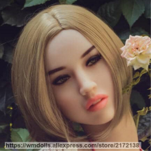 WMDOLL Realistic Oral Sex Heads Silicone Sex Doll Head for Real Size Sex Dolls Sexy Toys For Men