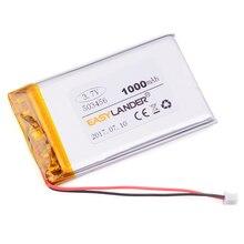 Li-ion para Gps 503456 503356 3.7 V 1000 Mah Recarregável Li-polímero Bateria Mp4 Mp5 Dvr Falante Brinquedos E-book 503455
