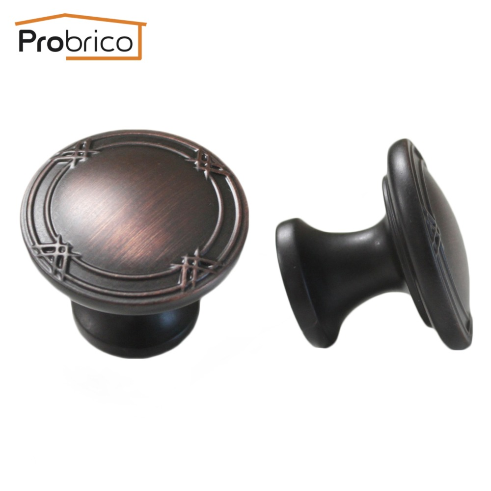 Oil Rubbed Bronze Chairs ~ Probrico pcs vintage furniture drawer knob ps orb