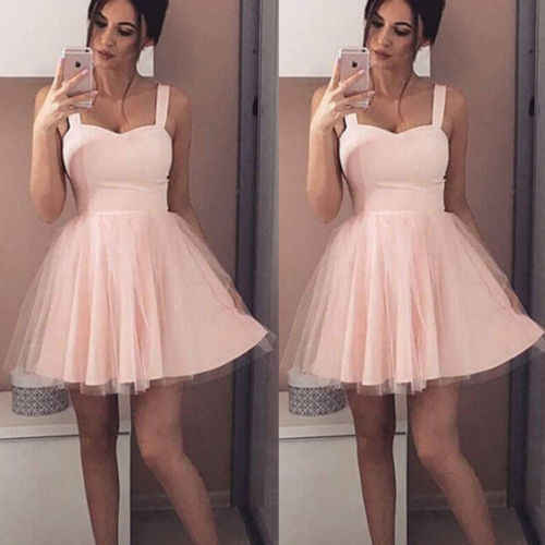 2018 Women Lace Swing Skater Dress Sexy Strap Sleeveless Tulle Dress Elegant Female Party Club Beach Mini Dress Summer Sundress