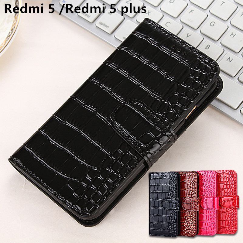 Redmi 5 Luxury Flip Leather Case For Xiaomi Redmi 5 Card Slot Wallet Phone Bag Case For Xiaomi Redmi 5 Plus Silicon Back Cover
