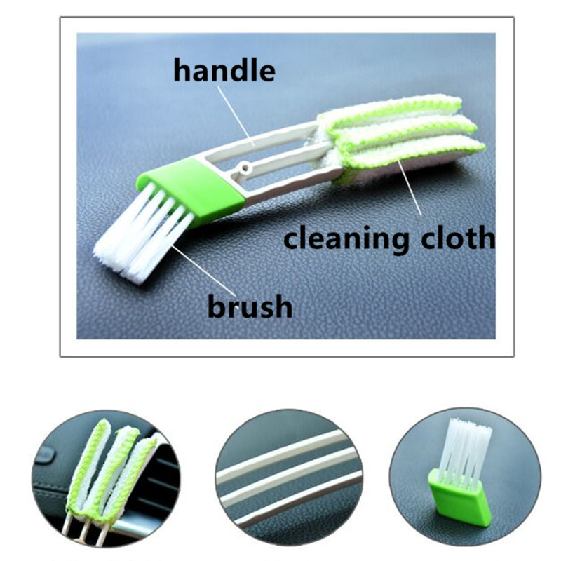 Car Cleaning Double Side Brush For <font><b>BMW</b></font> E46 E39 E38 E90 E60 E36 F30 F30 E34 F10 <font><b>F20</b></font> E92 E38 E91 E53 E70 X5 X3 X6 M M3 M5 2 Series image