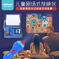 Mideer Kids Storybook Torch Projector Cinderella Pinocchio Thumbelina The Happy Prince Fancy Games Education Learning Toys Gifts