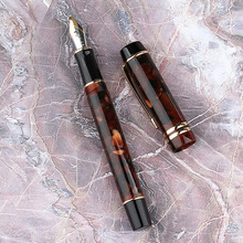 Moonman M600S prezenty dwukolorowy atrament do pisania wypełnienie próżniowe gładkie urządzenie do ćwiczeń biurowych pióro wieczne dla dzieci Iridium Fine Nib