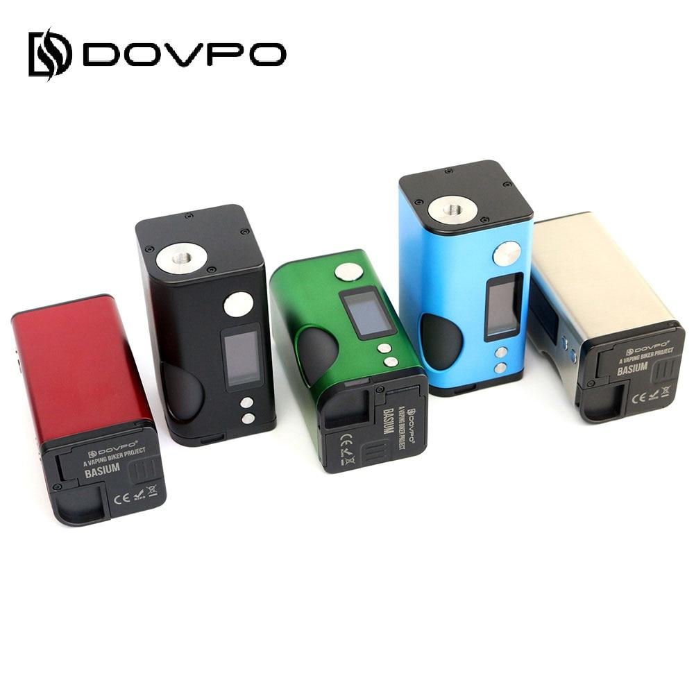Original 180 W Dovpo Basium VV Squonk MOD avec 6 ml Squonk bouteille et 0.96 pouces OLED écran No 18650 batterie boîte Mod Vs Rage Mod