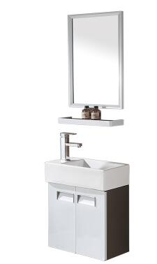 Bathroom cabinet, stainless steel. Ultra narrow the sink ...