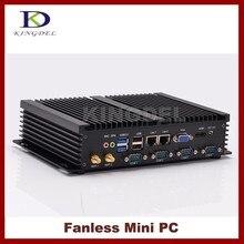 Промышленный компьютер Тонкий клиент Intel Celeron 1037U двухъядерный Процессор, 4 ГБ Оперативная память 64 ГБ SSD 2*1000 м LAN, 4 * COM, 2 * USB 3.0 300 м Wi-Fi, HDMI