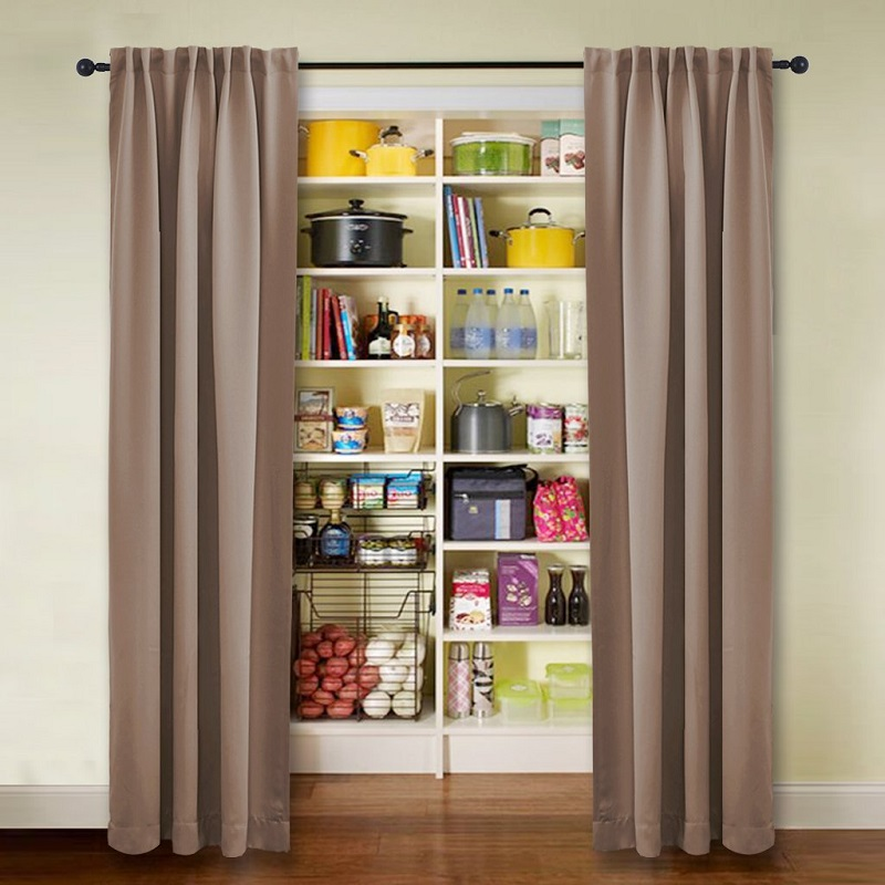 Wide Width Blackout Patio Curtain Sliding Door Insulated Curtains