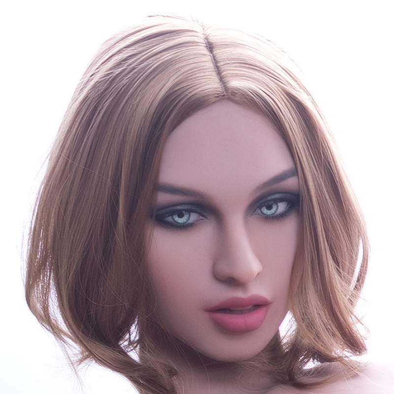 Sex toy head  real  doll head  for 140--172 TPE Love DollSex toy head  real  doll head  for 140--172 TPE Love Doll