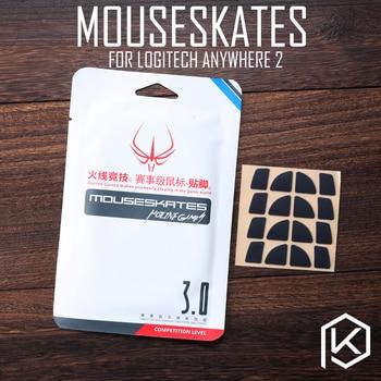 Hotline giochi 4 set/pacco originale livello di competizione piedi del mouse pattini gildes per logitech anywhere 2 mouseskates 0.6 millimetri Teflon KPrepublic Store