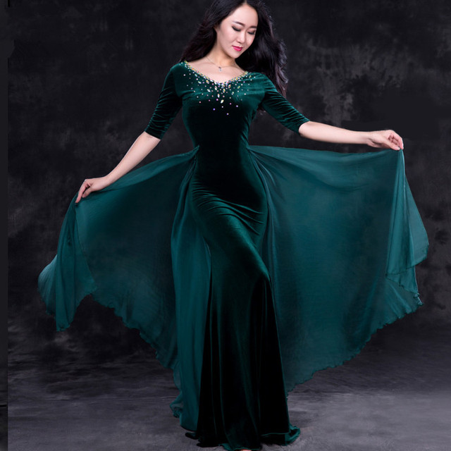 4b3d35b1d8c847 Buikdans oostelijke diamant borduren rokken beha jurk kostuum voor oosterse  dansen riem voor buikdansen pak set
