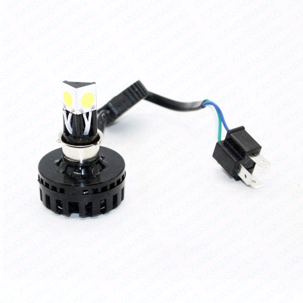 H4 Led Motorcycle Headlight Hi Lo Beam 6000K 3000LM h4 Led Motorbike Headlamp High/Low Conversion Kit Bulb Moto Accessories