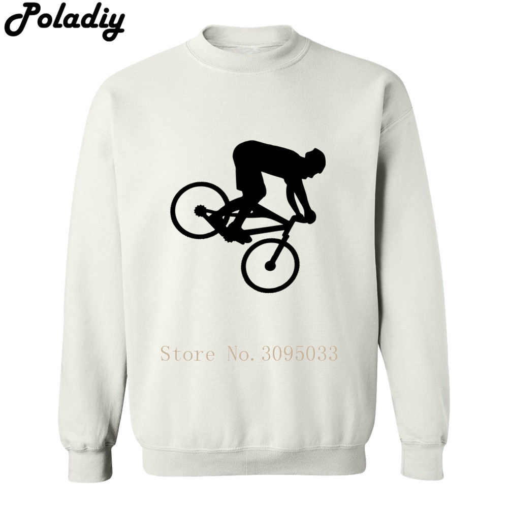 downhill mtb mountain biker new funny hip hop hoodies men sweatshirt crossfit hipster ho ...