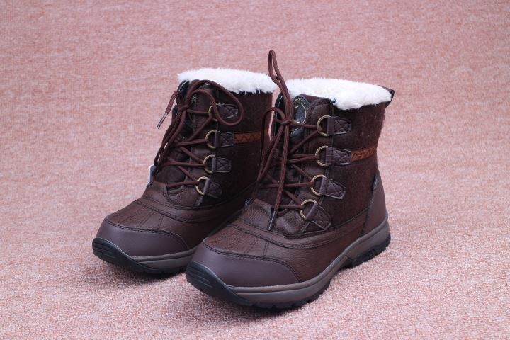 Women winter hiking boots female walking Boots ladies waterproof snow boots skiing shoes women winter sneakers for-45C LUHTA