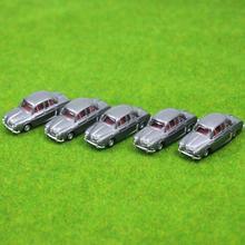 חדש 5 יחידות גארי 1:100 מכוניות מודל בקנה מידה HO TT עבור C10009 נוף בניין רכבת רכבת רכבת דוגמנות