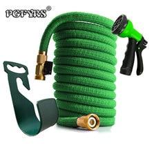 50ft 1 ชุดใหม่คุณภาพสูง garden hose อัตโนมัติ magic hose สวนเครื่องมือและอุปกรณ์ 8 function ปืน
