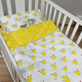 New Arrived Hot Ins crib bed 100% cottotton 3pcs baby Bedding set include pillow case+bed sheet+duvet cover without filling BD02