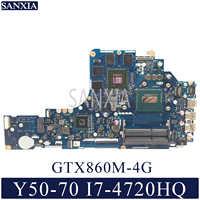 KEFU LA-B111P Laptop motherboard for Lenovo Y50-70 original mainboard I7-4720HQ/4710HQ GTX860M-4G