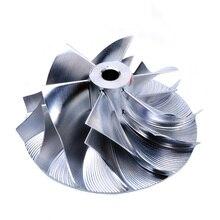 Billet Turbo Compressor Wheel VO*VO S40 / SAAB 9-3 TD04L-14T (39.6/51 mm) 6+6 # 405-9901D-435 billet turbo compressor wheel mitsu ishi l200 4dr6t 2 5l td04 7b 31 8 49 mm 405 9901d 412